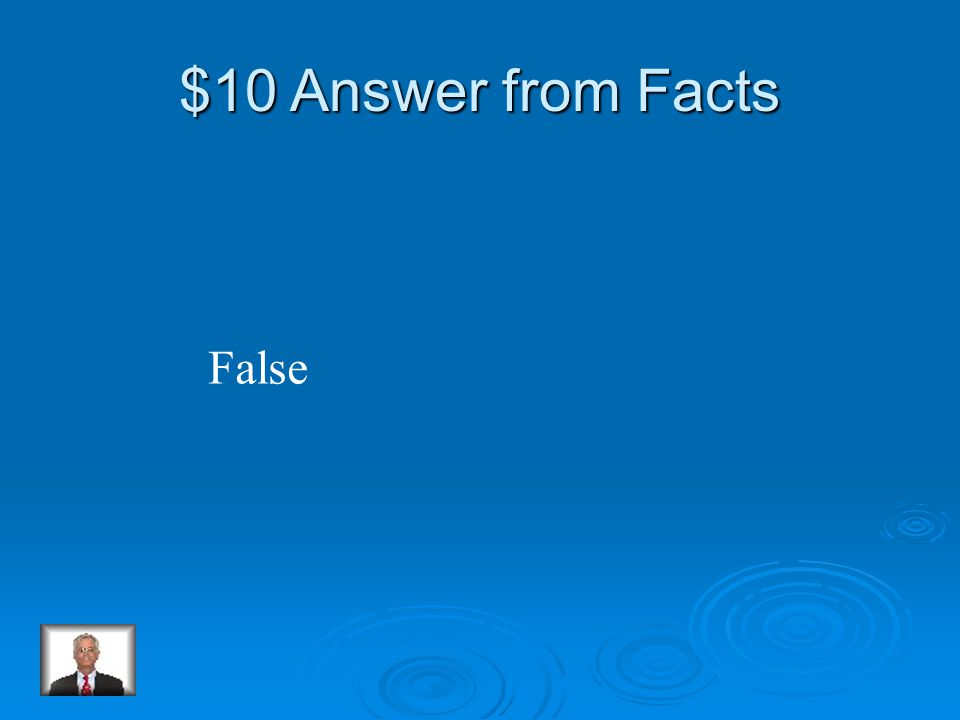 $10 Question from Facts True or False: All penguins look alike.