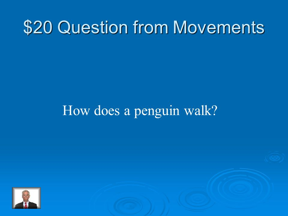 $10 Answer from Movements False