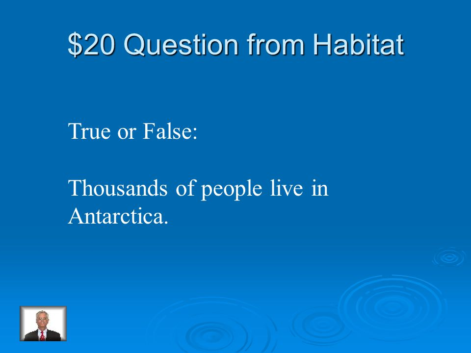 $10 Answer from Habitat South