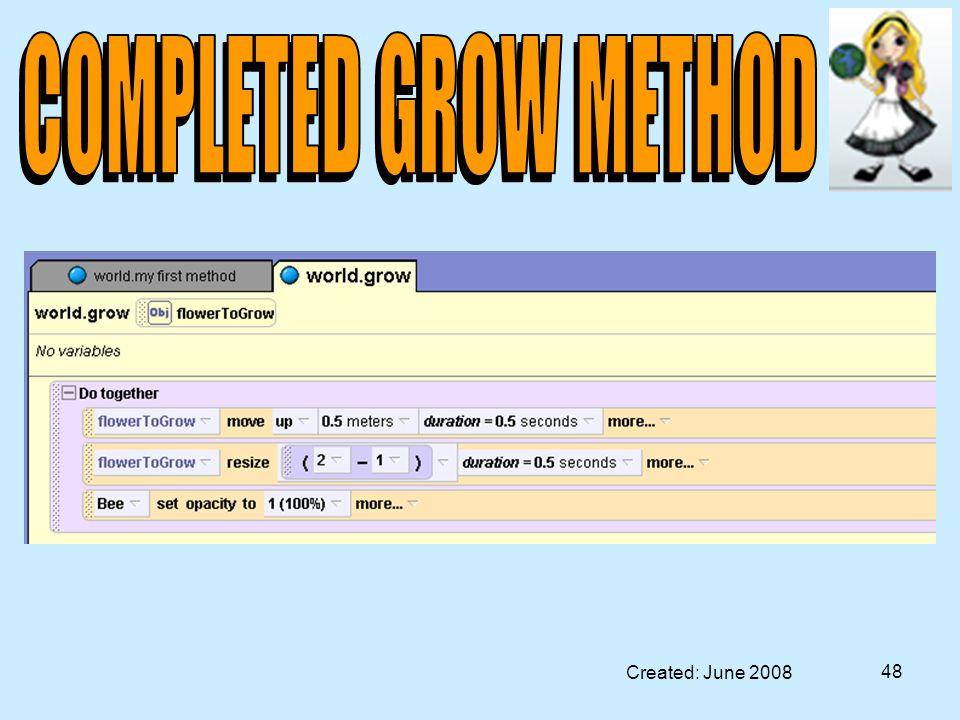 Created: June 2008 48