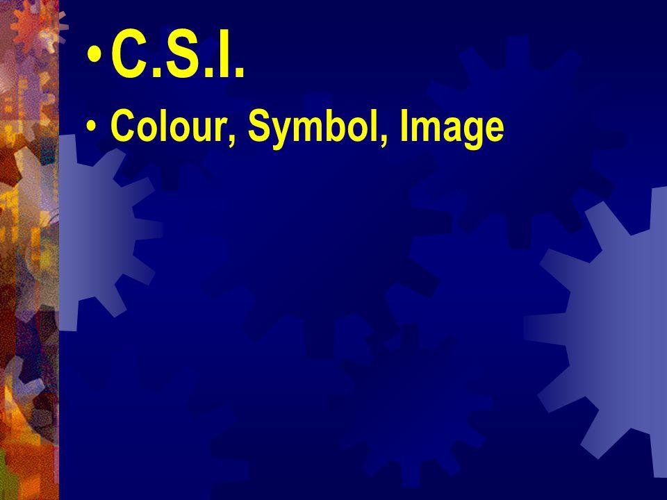 C.S.I. Colour, Symbol, Image