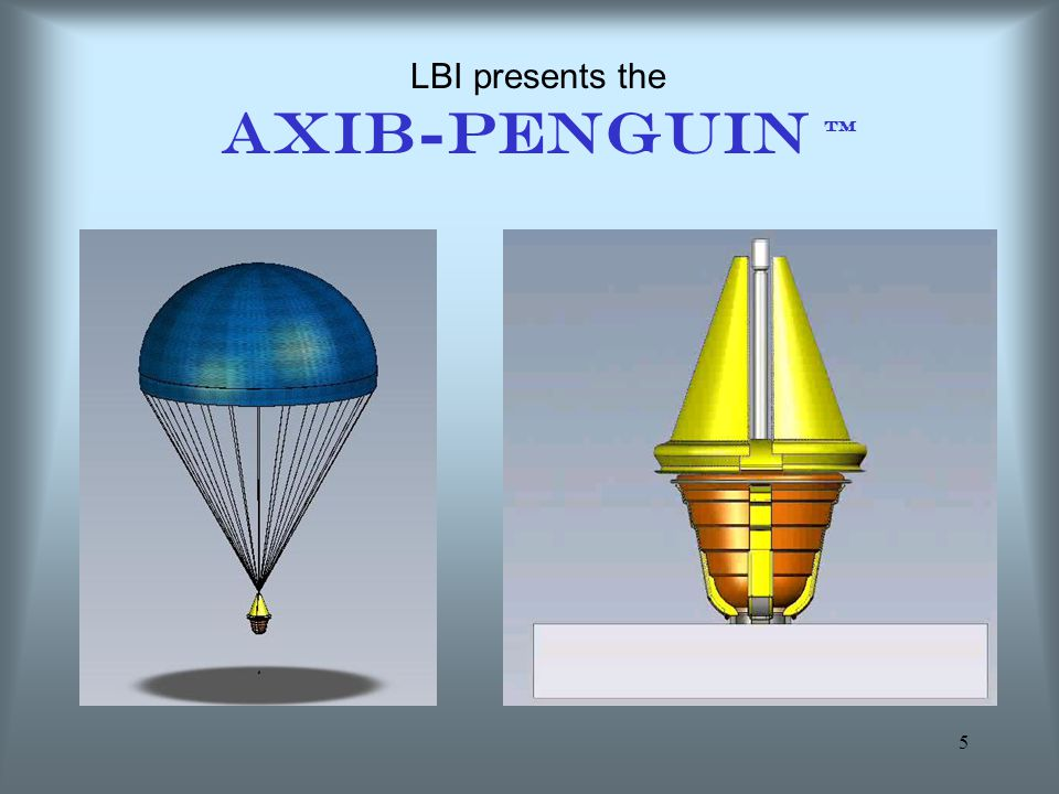 5 LBI presents the AXIB-PENGUIN TM