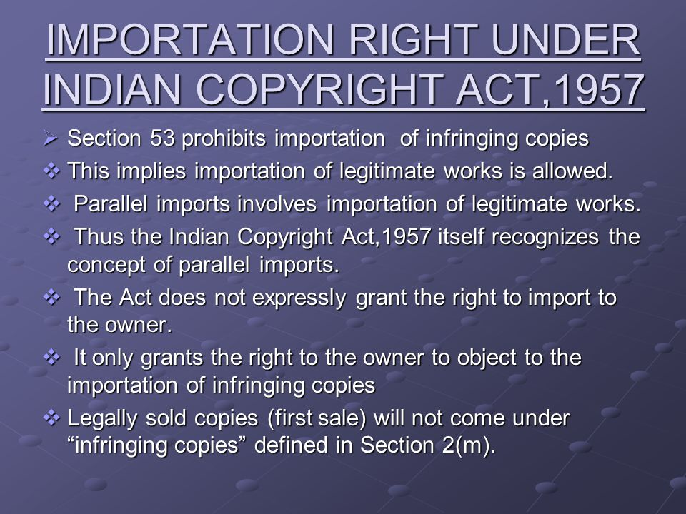 Penguin case FACTS  Penguin Books Ltd., England filed a suit for perpetual injunction against India Books Distributors, Bombay.