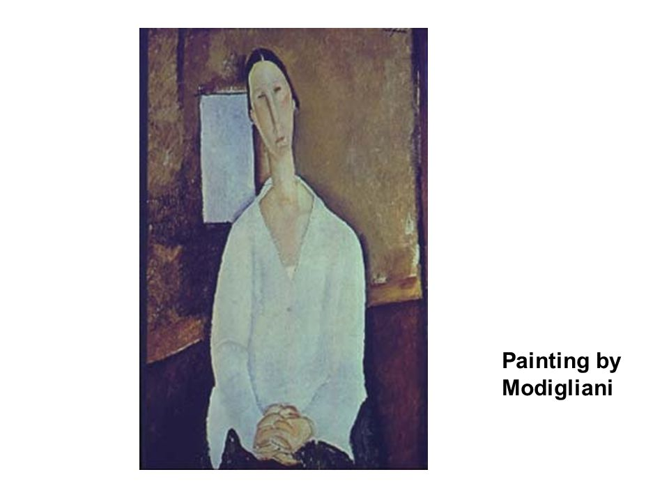 Painting by Modigliani