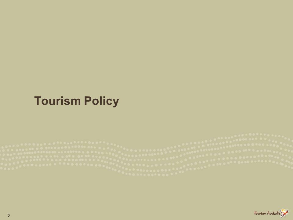 Tourism Policy 5