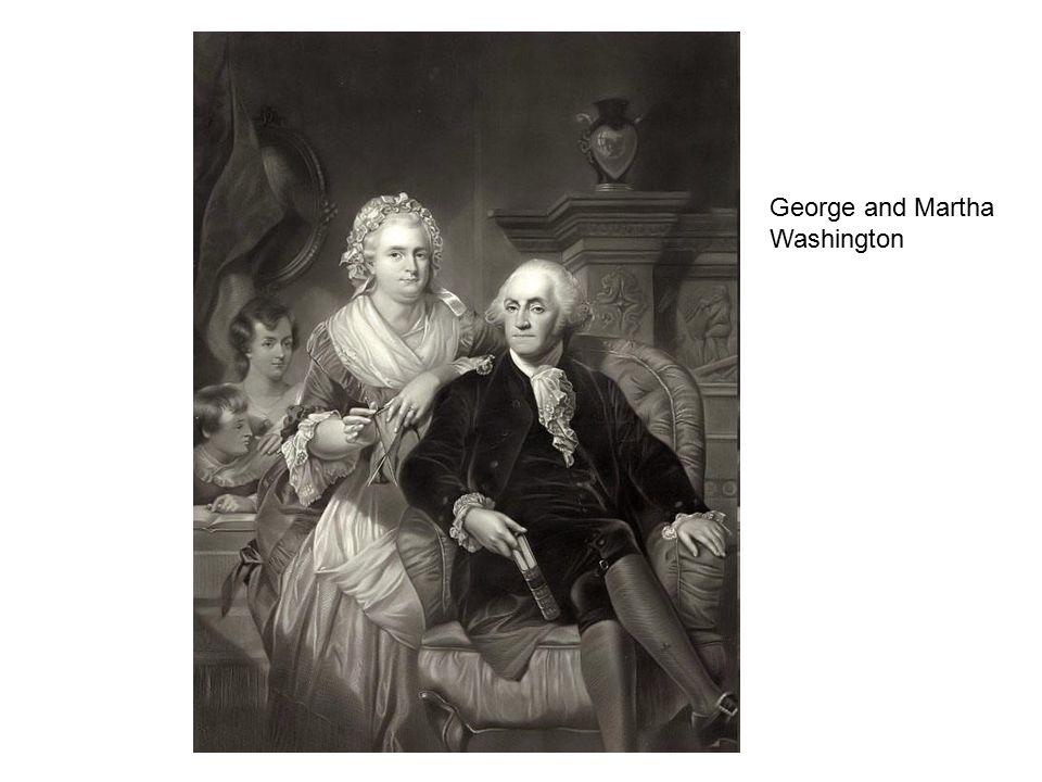 George and Martha Washington