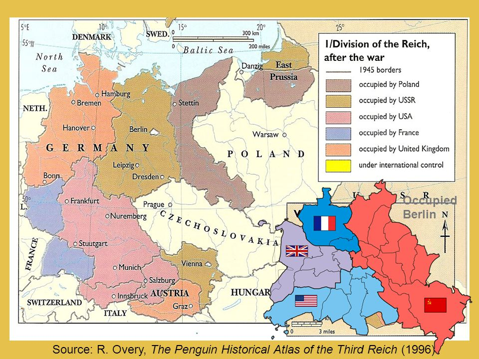Source: R. Overy, The Penguin Historical Atlas of the Third Reich (1996) Occupied Berlin