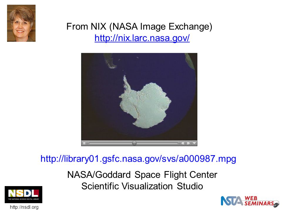 From NIX (NASA Image Exchange) http://nix.larc.nasa.gov/ http://nix.larc.nasa.gov/ NASA/Goddard Space Flight Center Scientific Visualization Studio ht