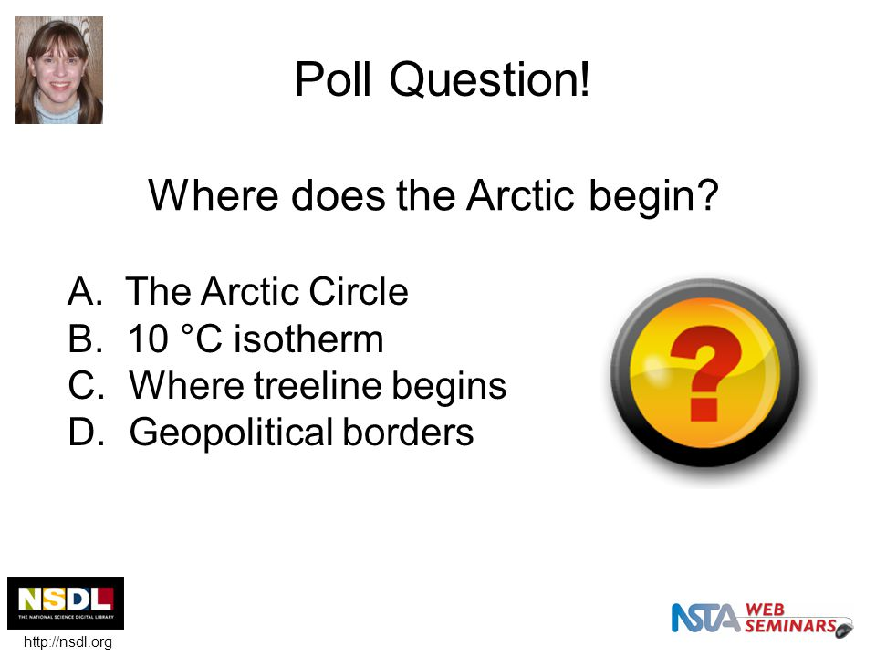 Blog post Where is the Arctic.