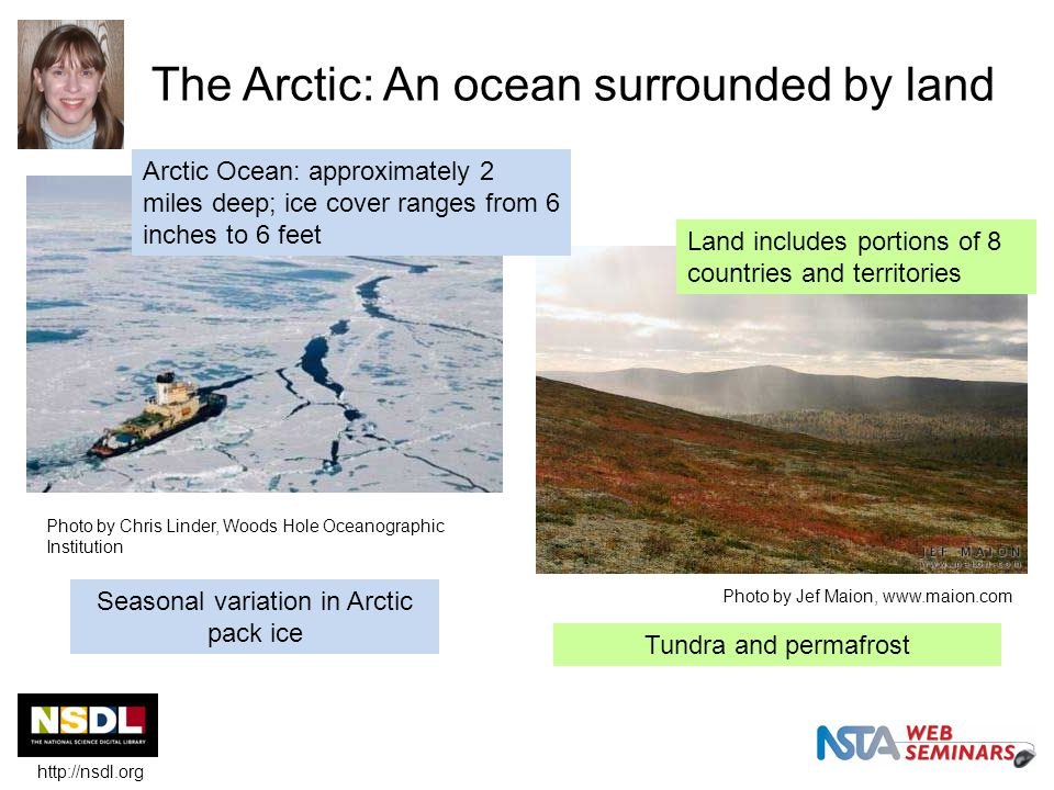 Interested in learning more about the polar regions.