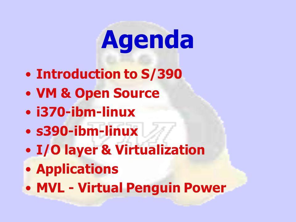 Linux/390 Virtual Penguin Power