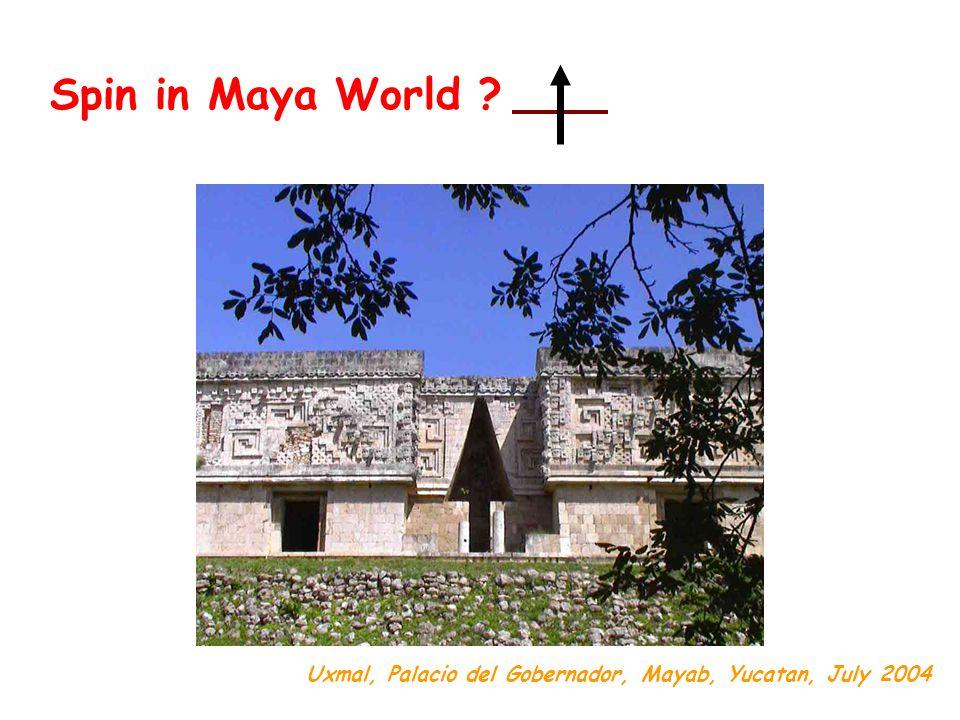 Spin in Maya World Uxmal, Palacio del Gobernador, Mayab, Yucatan, July 2004