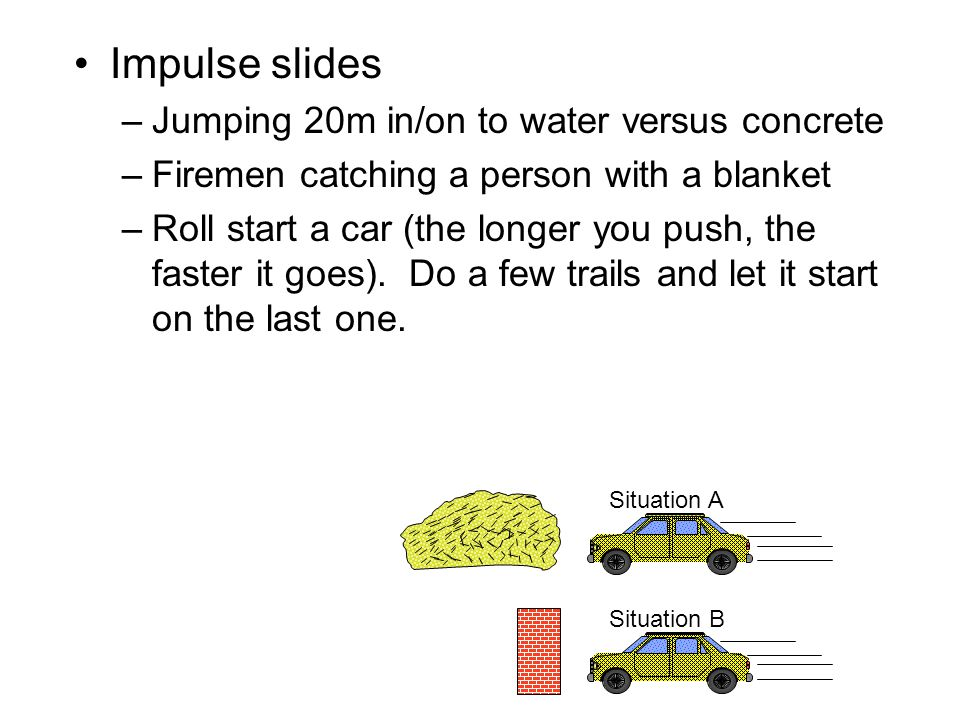 Momentum – Elastic Collisions Elastic Collision – a collision in which the colliding bodies do not stick together.