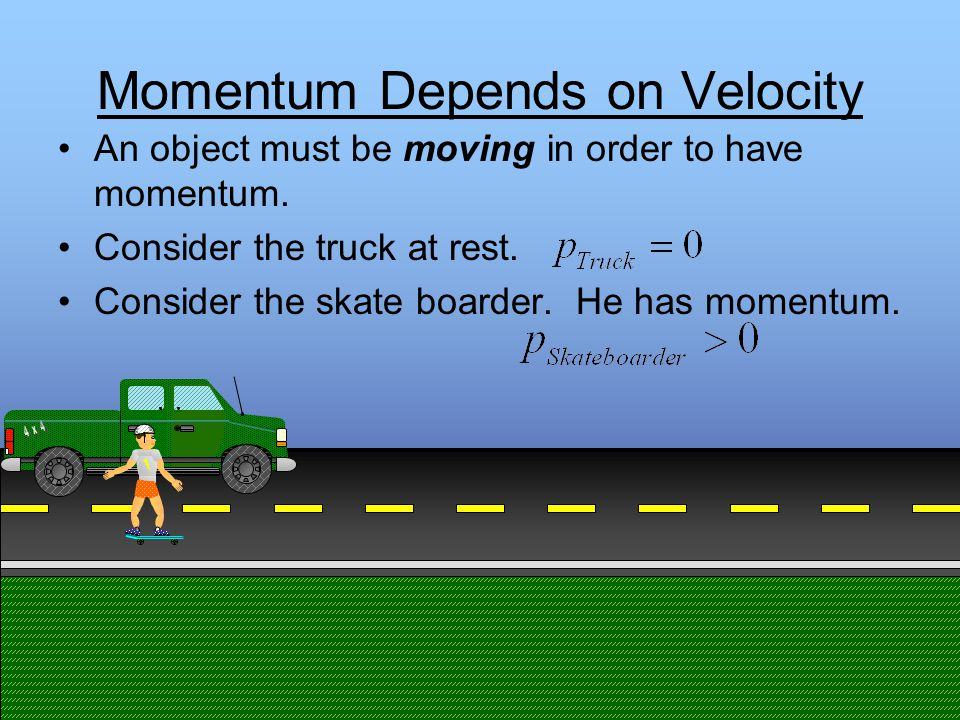 Momentum Identify the number and types of collisions in the animation below.