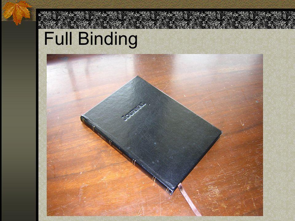Full Binding