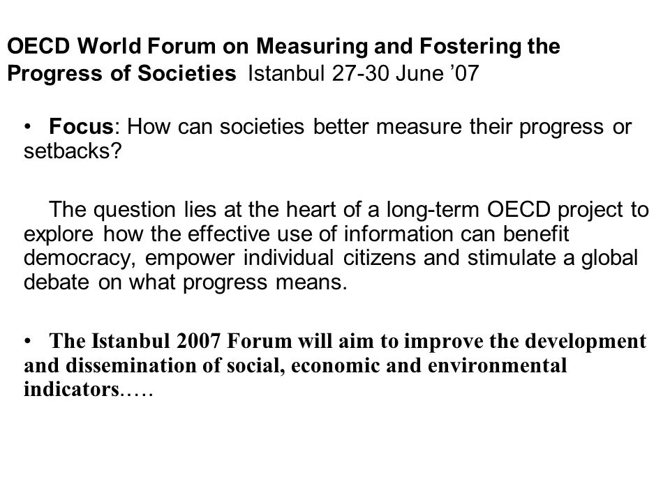 Title of our session: Human Capital: the Largest Share of a Nation s Wealth T o explore what evidence societies need in order to optimise their investment in - and the return from - their human capital Human Capital 1 : The knowledge, skills, competencies and attributes embodied in individuals that facilitate the creation of personal, social and economic well-being.