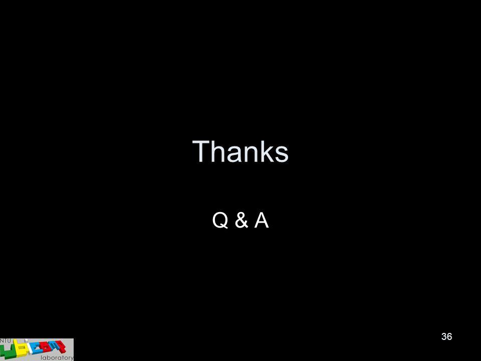 36 Thanks Q & A