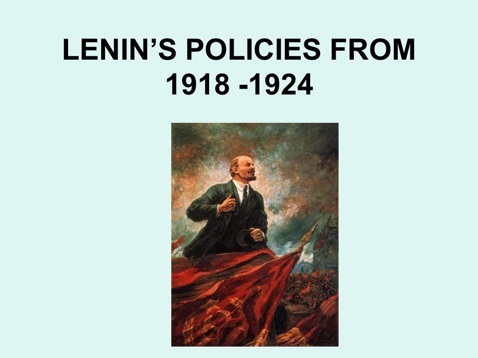 The Bread War The Bolsheviks waged a civil war against the peasants for grain.