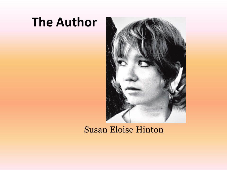Susan Eloise Hinton The Author