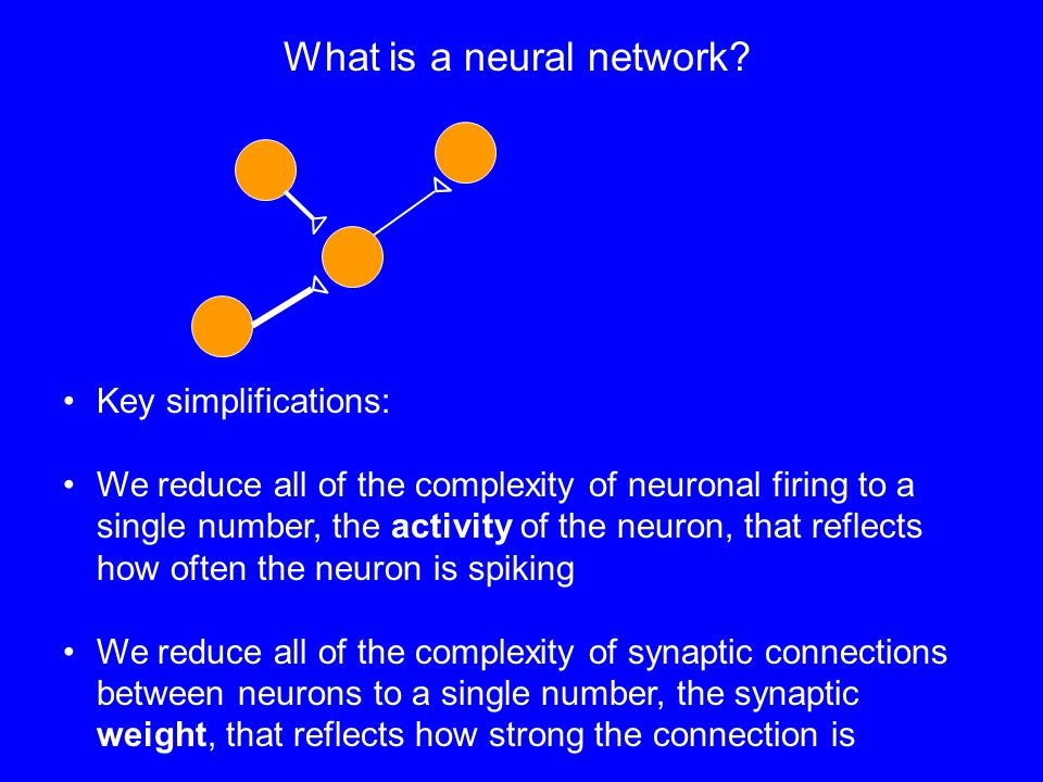 What is a neural network.