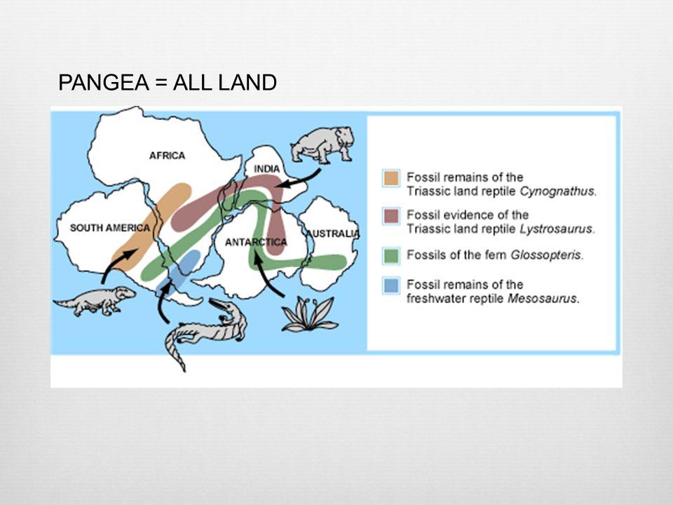PANGEA = ALL LAND