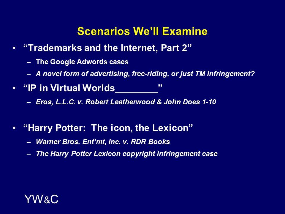 YW & C Is Hatch-Waxman (Still) Being Gamed._________________ In re Cipro (Fed.