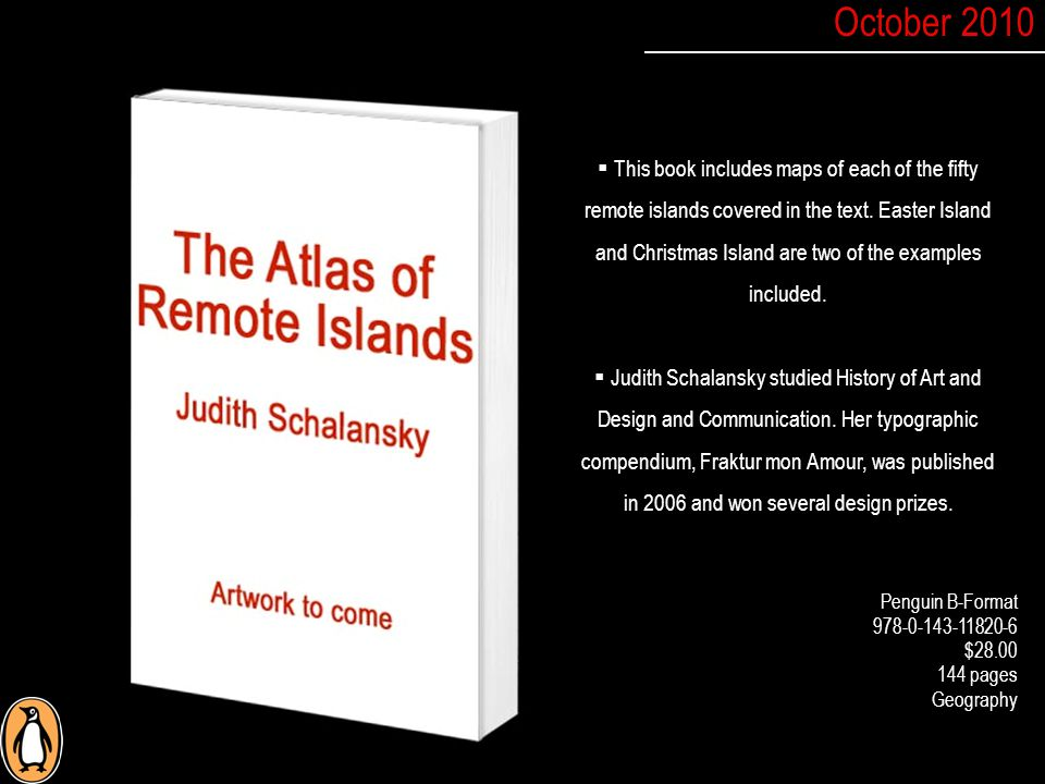  This book includes maps of each of the fifty remote islands covered in the text.