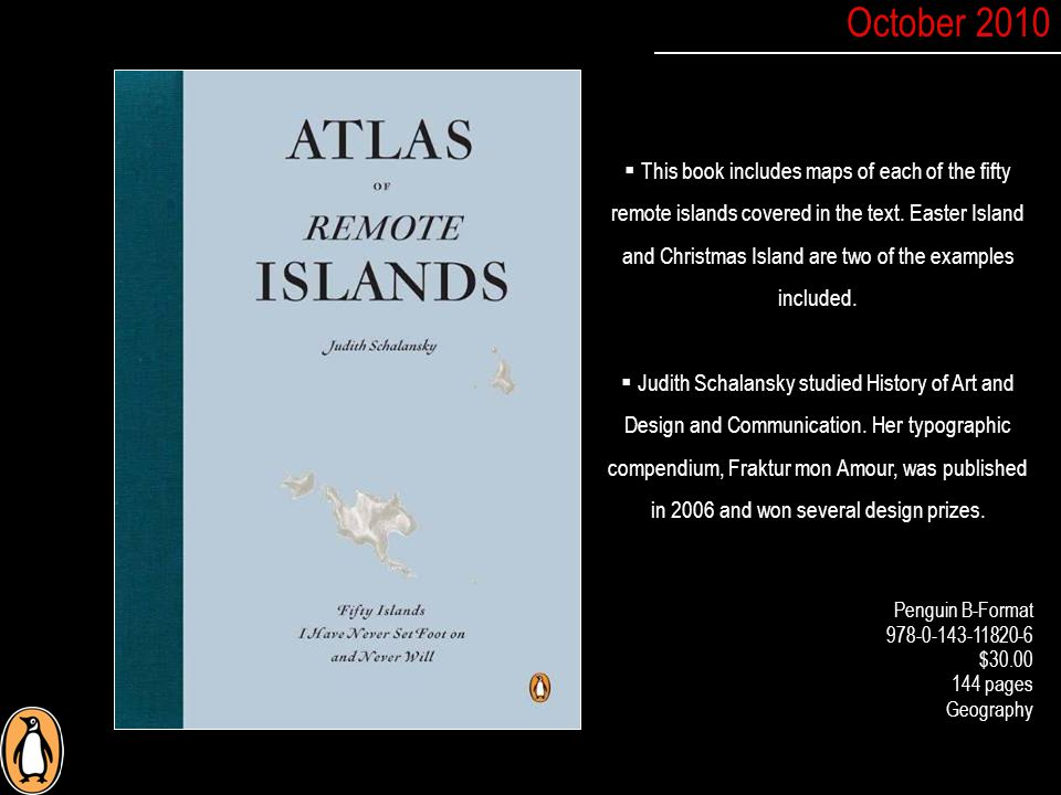  This book includes maps of each of the fifty remote islands covered in the text.