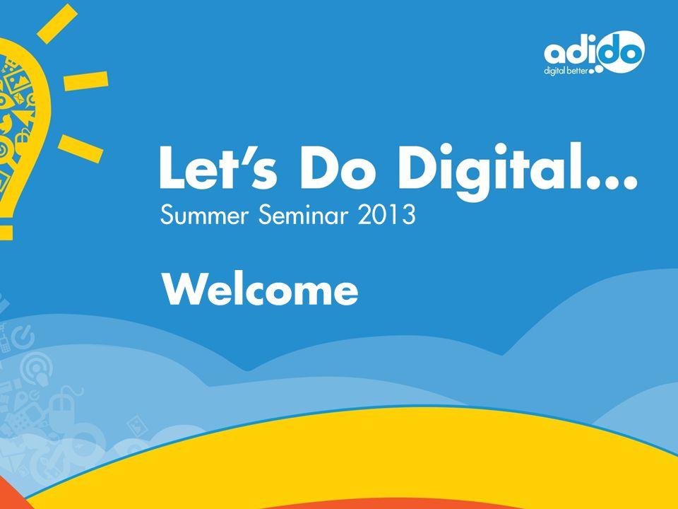Welcome Summer Seminar 2013