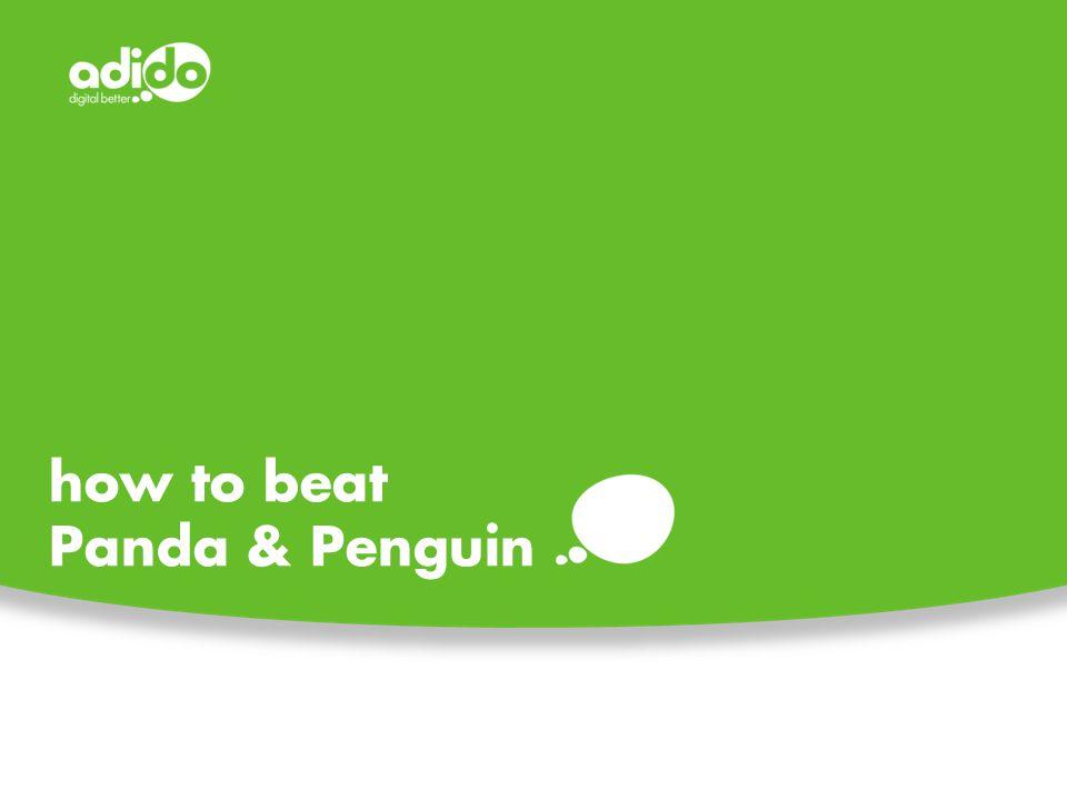 how to beat Panda & Penguin