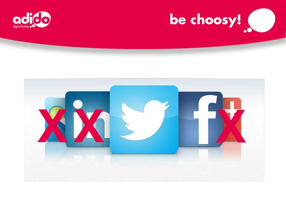X X X be choosy!