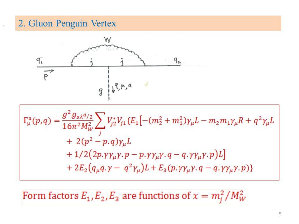 2. Gluon Penguin Vertex. 8