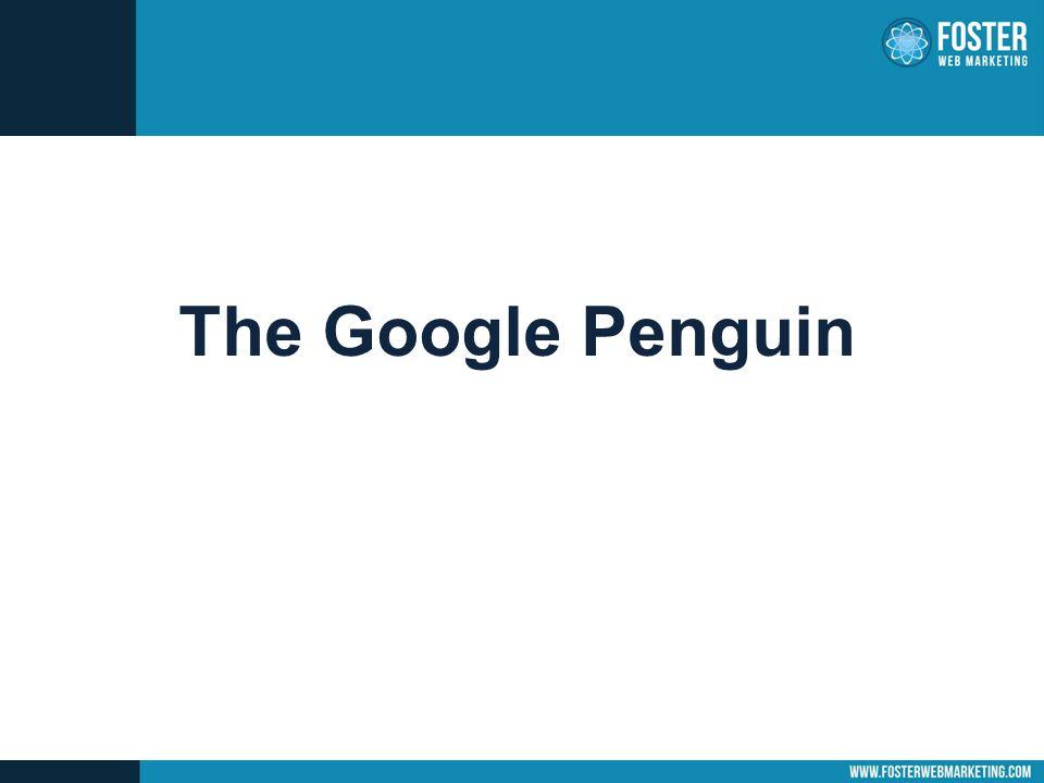 The Google Penguin