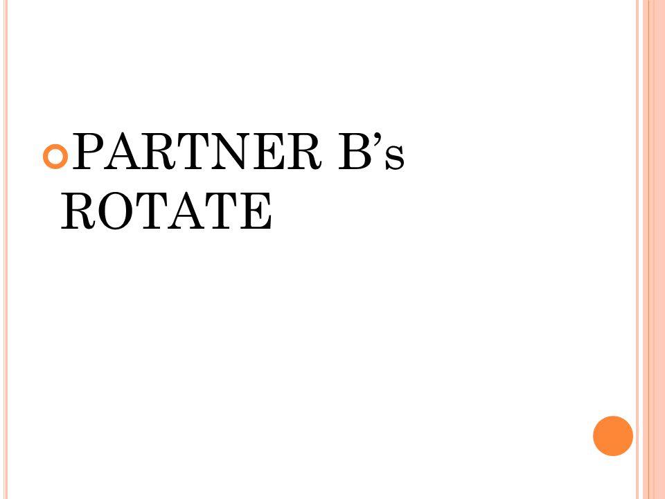 PARTNER B's ROTATE