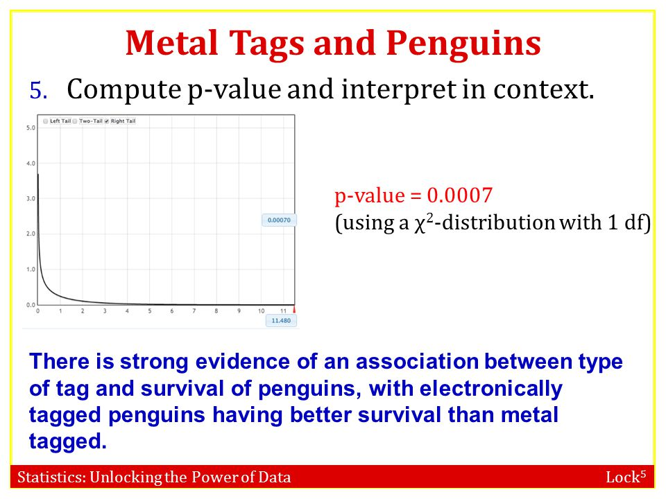 Statistics: Unlocking the Power of Data Lock 5 Metal Tags and Penguins 4.