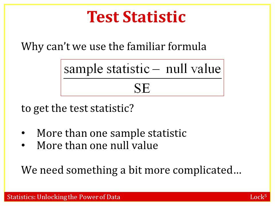Statistics: Unlocking the Power of Data Lock 5 Chi-Square Distribution