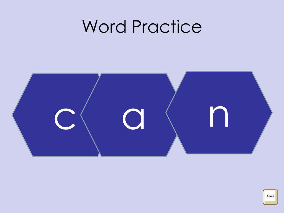 Word Practice ca n