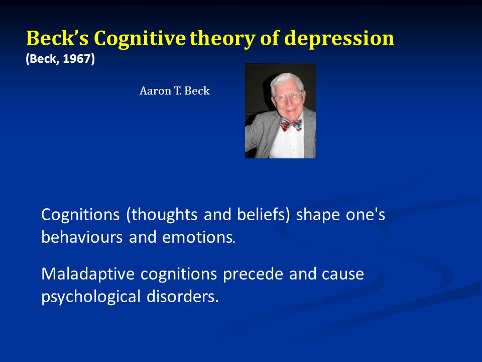 aaron t beck theory