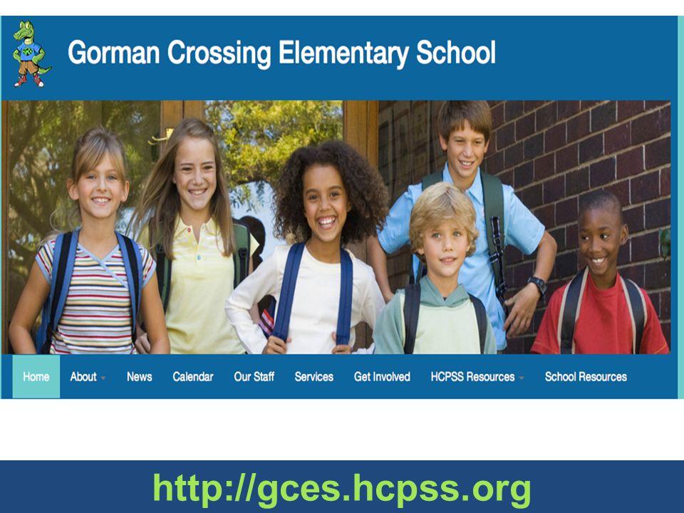 New school website http://gces.hcpss.org
