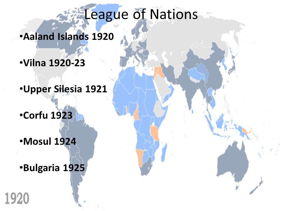 League of Nations The Abyssinian Crisis The French and British were hesitant to alienate the Italians, as they assumed that only a strong alliance with Italy would keep the increasingly aggressive Nazi Germany in check Though the League officially condemned the invasion, they looked for a settlement outside of the League In December, British For.