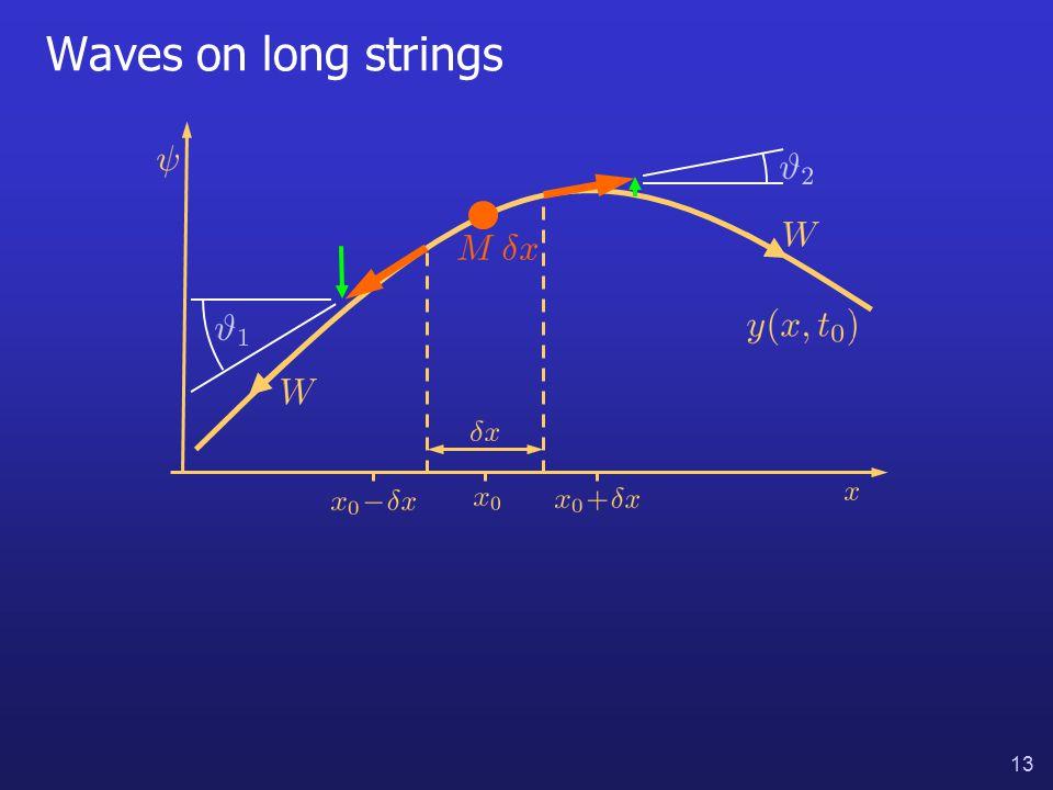 13 Waves on long strings