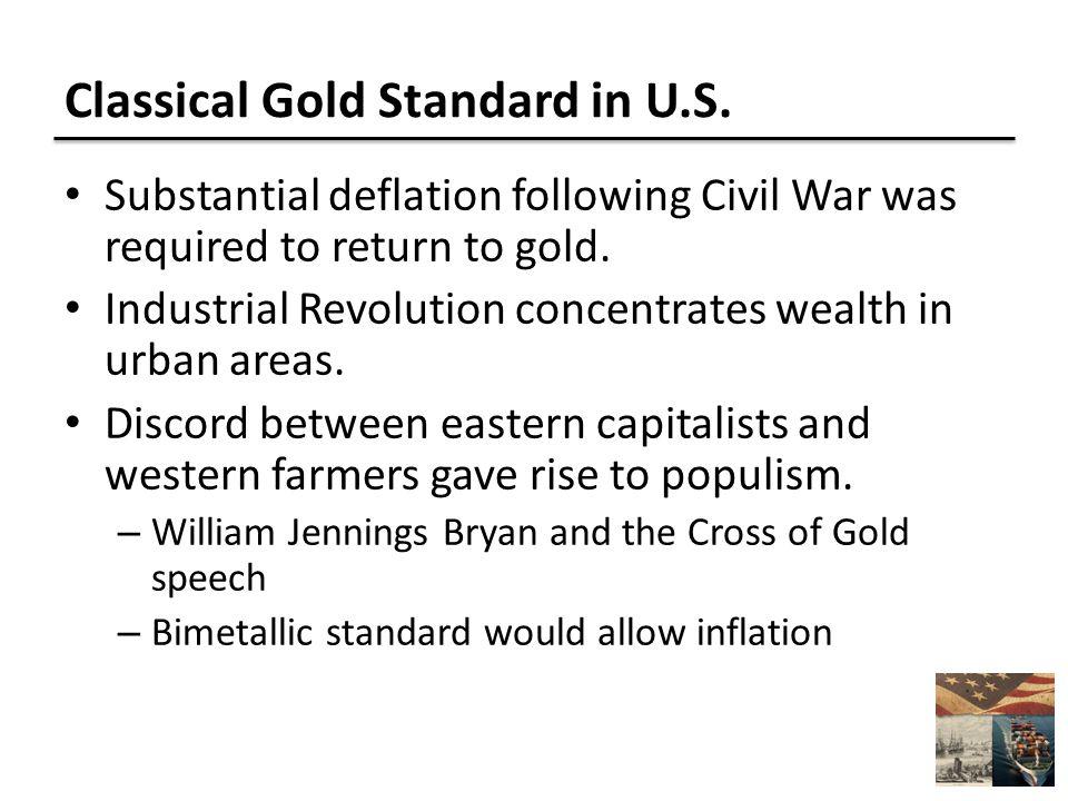 Classical Gold Standard in U.S.