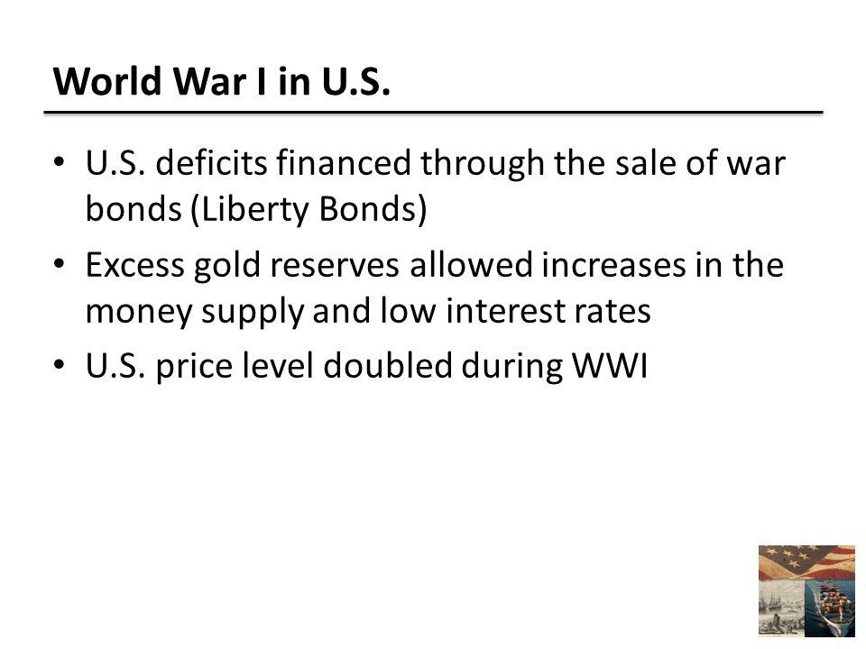 World War I in U.S. U.S.