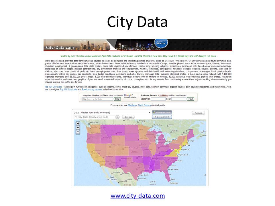 City Data www.city-data.com