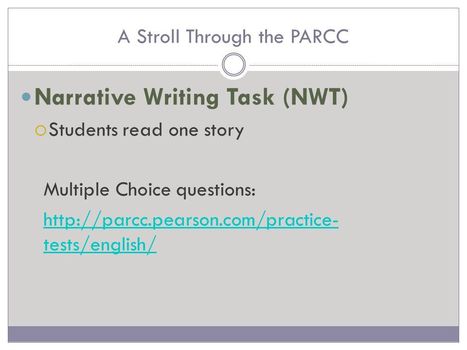 A Stroll Through the PARCC Technology Features http://epat-parcc.testnav.com/client/index.html#tests
