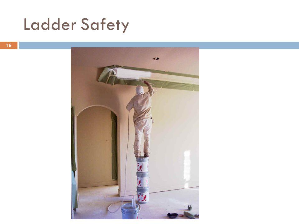 16 Ladder Safety