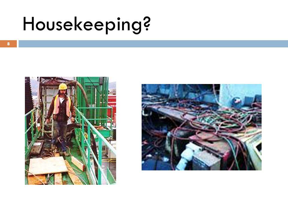 8 Housekeeping 8