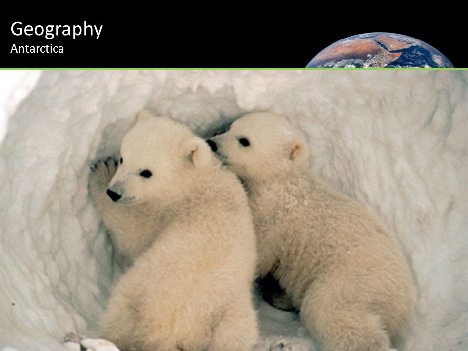 Geography Antarctica
