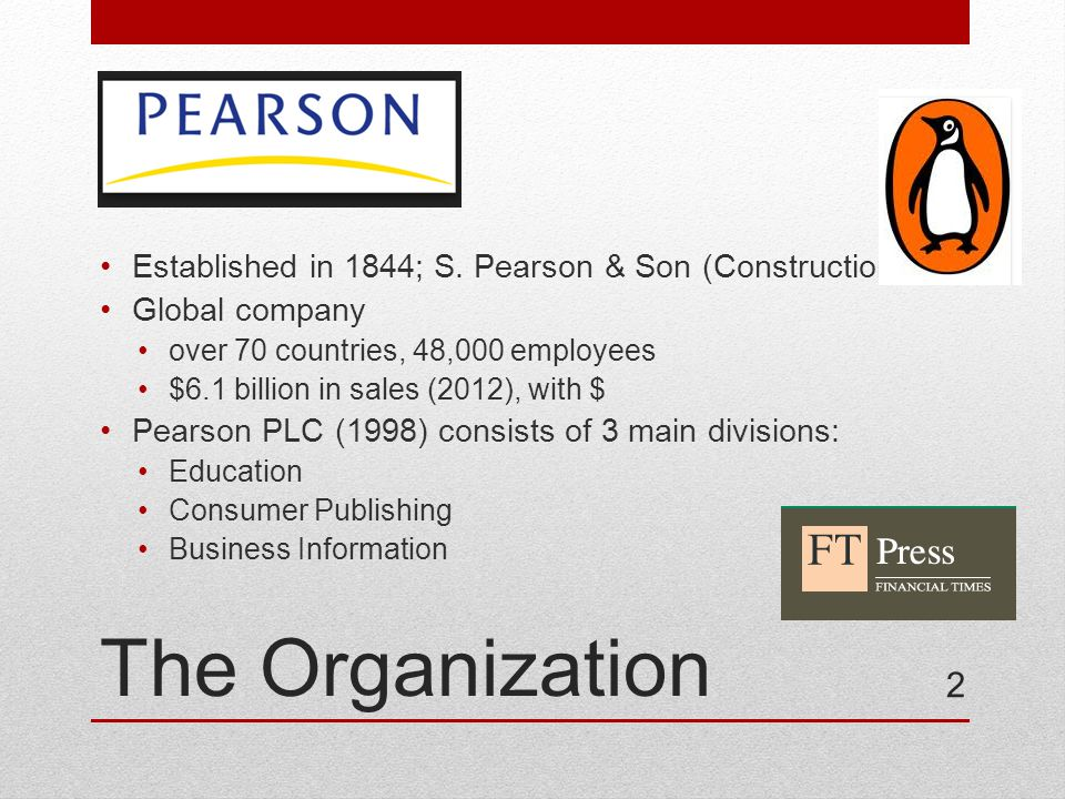 The Organization Established in 1844; S.