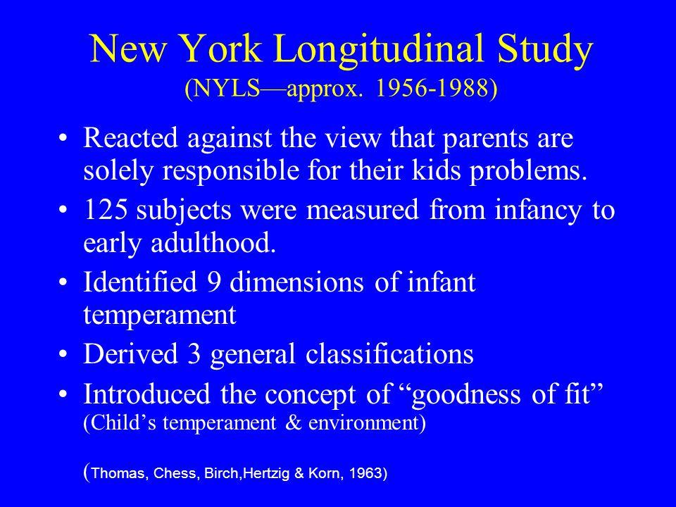 New York Longitudinal Study (NYLS—approx.